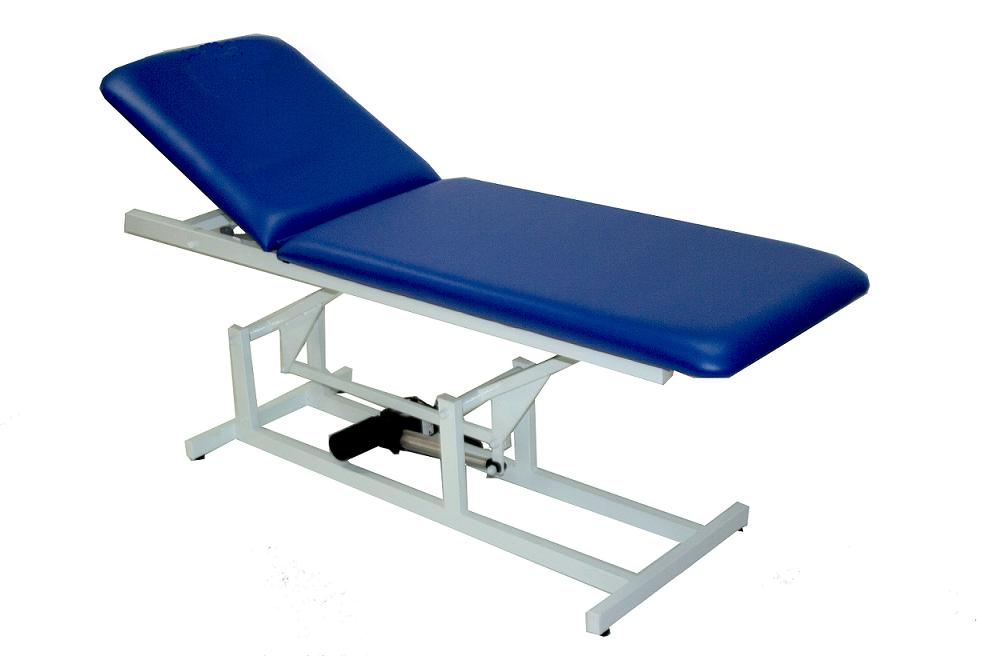 Table d examen lectrique table de lit a roulettes for Divan fauteuil