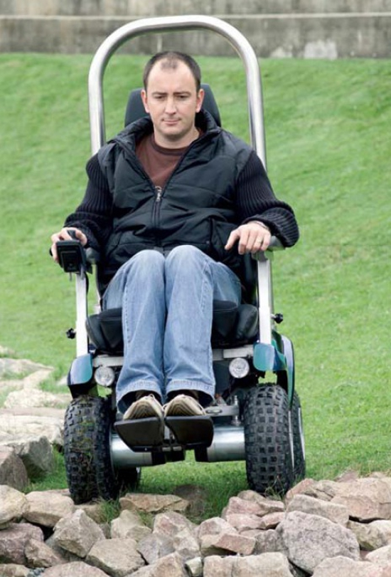 fauteuil roulant tous chemins p4 country