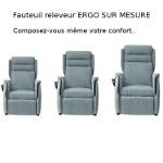 Fauteuil releveur Confort ERGO sur mesure 1 moteur