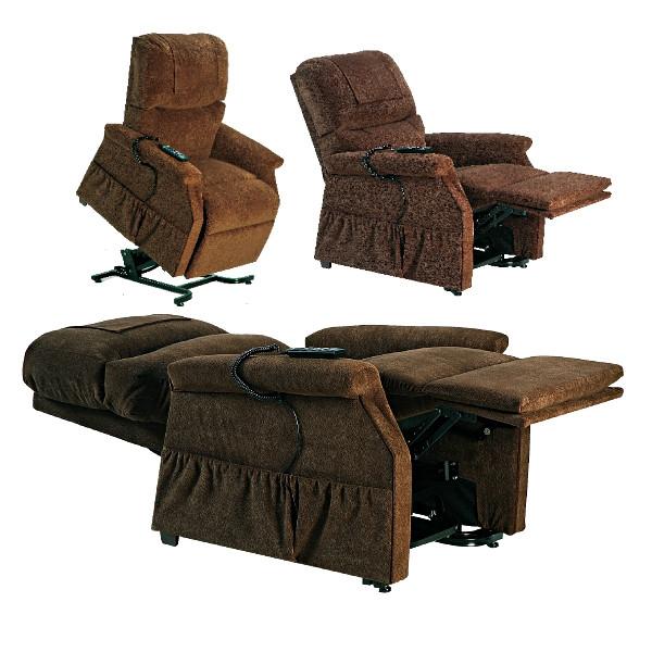 Fauteuil releveur lectrique confort premium 2 moteurs - Fauteuil confort electrique ...