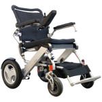 Fauteuil roulant électrique pliant SmartChair CITY, roues arrières 12''