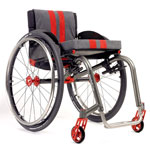 Fauteuil roulant manuel l�ger Kuschall R33