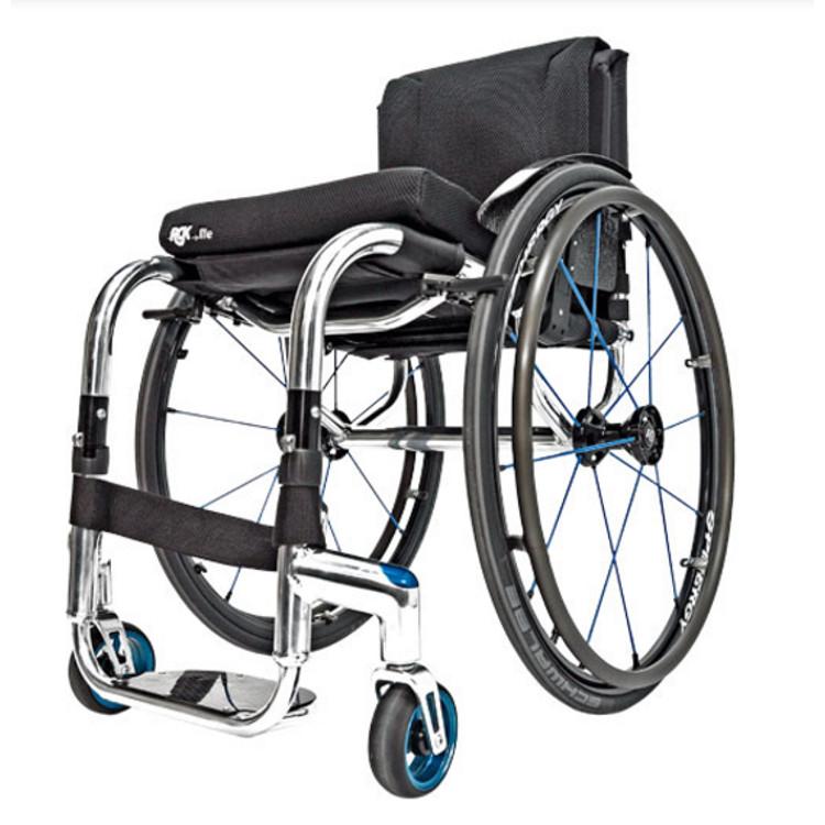 fauteuil roulant manuel l ger rgk tiga fx sofamed. Black Bedroom Furniture Sets. Home Design Ideas