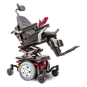 Fauteuil roulant electrique q6 edge sofamed - Prix fauteuil roulant electrique ...