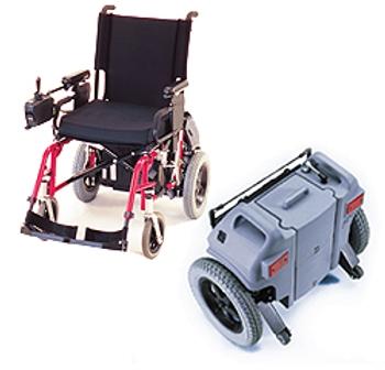 motorisation lectrique f16 pour fauteuil roulant manuel. Black Bedroom Furniture Sets. Home Design Ideas