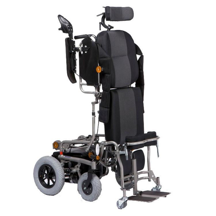 Fauteuil roulant verticalisateur squod su sofamed - Prix fauteuil roulant electrique ...