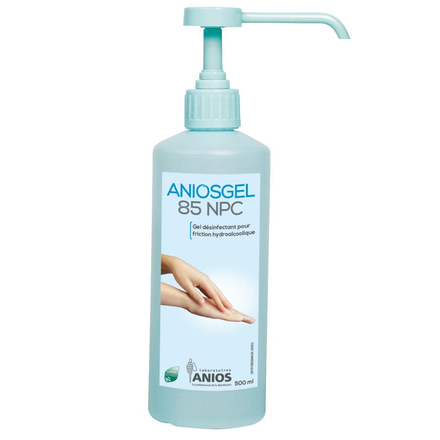 Aniosgel 85 Npc Gel Hydroalcoolique En Flacon Pompe 1l Sofamed