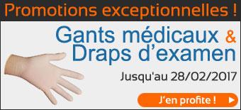 promo Gants d'Examen