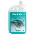 Hexanios G+R Nettoyant et pré-désinfectant - Flacon 1 litre