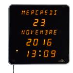 Horloge calendrier digitale