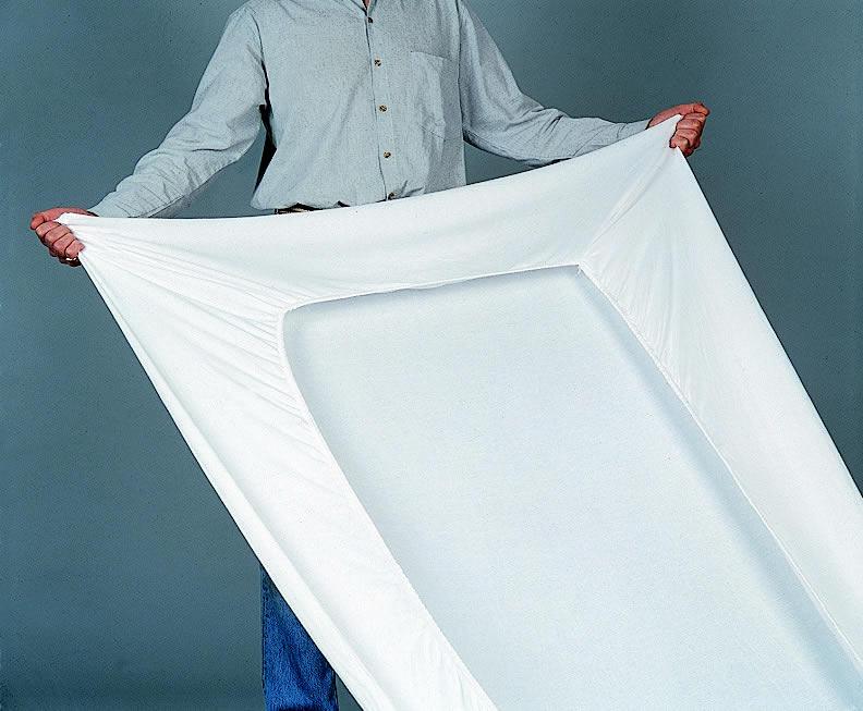 drap housse en plastique Housse en dermalon forme drap housse pour lit médicalisé drap housse en plastique