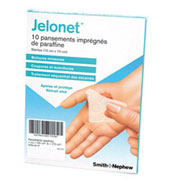 Pansements stériles Jelonet (Base paraffine)