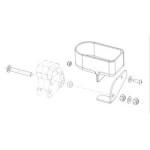 Kit porte canne pour fauteuil roulant Salsa R2 et Salsa M2