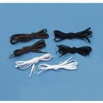 Lacets élastiques plats (Lot de 2 paires)