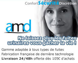 AMD incontinence
