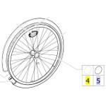 Main-courante pour fauteuil roulant Action 3NG et 4NG