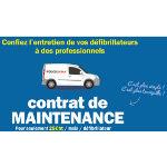 Contrat de maintenance pour défibrillateur