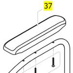 Manchette d'accoudoir pour fauteuil roulant Action 3NG et 4NG
