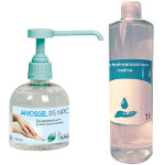 Pack 1 Aniosgel 300 ml pompe + 1 Fareva 500 ml gel hydroalcoolique