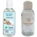 Pack 1 Aniosgel 100 ml + 1 Cavi 100 ml gel hydroalcoolique