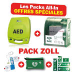 Pack défibrillateur Zoll AED +