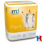 Pants incontinence AMD EXTRA Jour (carton de 6x14)