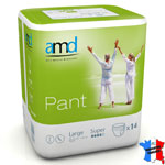 Pants incontinence AMD SUPER Nuit (sachet de 14)