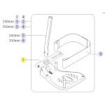 Pièces détachées pour palettes standards pour fauteuil roulant Kite
