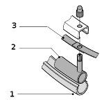 Pièces détachées pour roue de motorisation Alber E-Motion