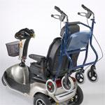 Porte rollator pour scooters Ceres, Mercurius, Carpo