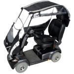 Protection de pluie Veltop Cocoon pour scooter électrique senior