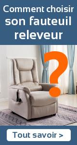 Comment choisir son fauteuil releveur