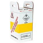 Container carton haute sécurité pour déchets médicaux