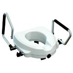 Réhausseur WC Primo avec accoudoirs relevables