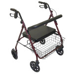 Déambulateur Rollator XXL Days rouge