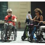 5ème roue électrique One pour fauteuil roulant manuel