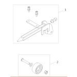 Roulette anti-bascule pour fauteuil roulant Salsa
