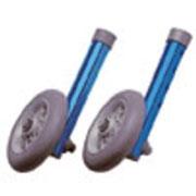 Roulettes fixes pour cadre de marche Invacare Brio (le jeu de 2)