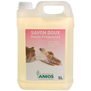 Savon doux Haute Fréquence Anios - Bidon 5 Litres