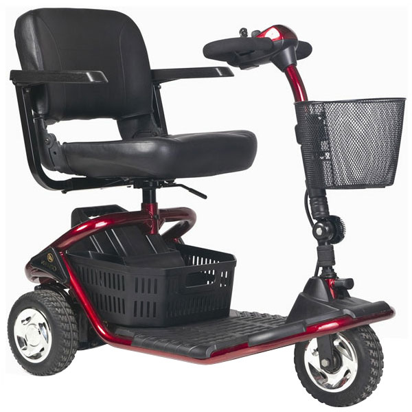 scooter lectrique senior literider 3 roues sofamed. Black Bedroom Furniture Sets. Home Design Ideas