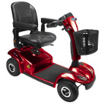 Scooter �lectrique Invacare Leo Ruby 4 roues