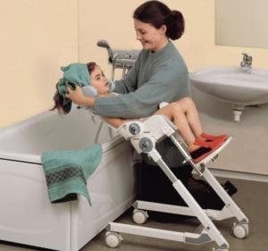 Siège de bain modulable enfant, Flamingo