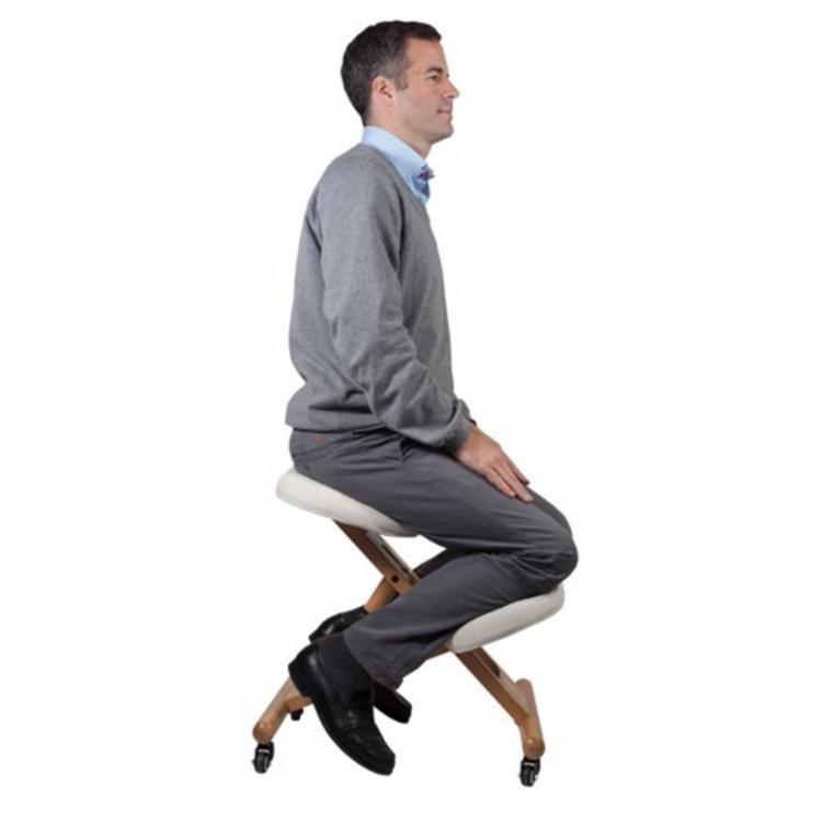si ge mal de dos assis debout stabido