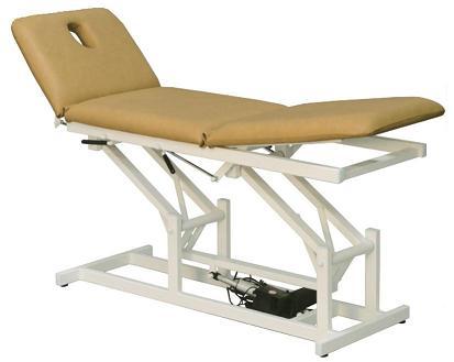 Table de kinésithérapie électrique C-605, 3 pans