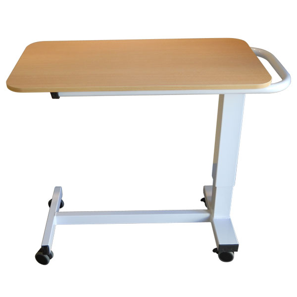 Table de lit ac 800 plateau r glable en hauteur par v rin for Table de lit