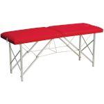Table de massage pliante P-001, avec tendeurs