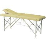 Table de massage pliante P-002, avec tendeurs