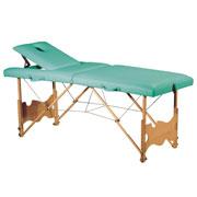 Table de massage pliante C-123, avec tendeurs