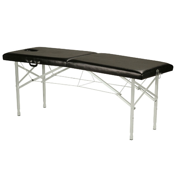 table de massage pliante c 109 avec tendeurs. Black Bedroom Furniture Sets. Home Design Ideas