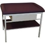 Table de pédiatrie 1 plan avec tiroir coulissant